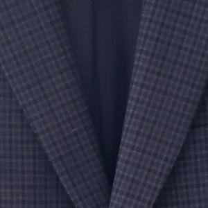DKNY Boys Blazer Multi-Color Checked 12 R
